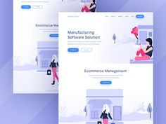 Digital Marketing agency Landing Page designed by Mithun Ray✪ . Connect with them on Dribbble; the global community for designers and creative professionals. Website Header, Web Ui Design, Landing Page Design, Cover Pages, Creative Design, Ecommerce, Digital Marketing, Software, Management