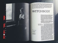 Sabrina Scott @immateriality on her graphic novel Witchbody @witchbodystudio in our Crone issue 🌙 🔮 🕯️ #witchcraft #witchesofinstagram #witchbody