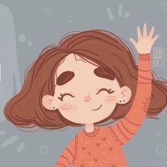 Cute Illustration, Character Illustration, Graphic Design Illustration, Cartoon Drawings, Cartoon Art, Cute Drawings, Pop Art Wallpaper, Cute Cartoon Wallpapers, Character Design Inspiration