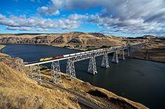 Joso Bridge (Lyons Ferry, Washington)