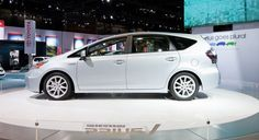 Prius V.  This or another hybrid crossover SUV is on my wish list for my next car. AWD would be nice too...