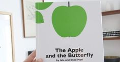 Fine Fine Books: Iela and Enzo Mari: The Apple and the Butterfly