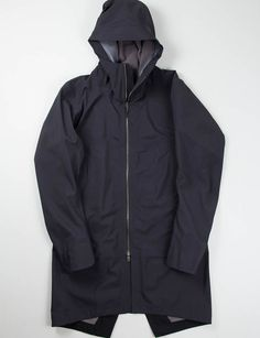 Arc'teryx Veilance Black Monitor SFT Coat