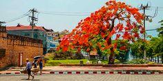 Im Zentrum von Chiang Mai Bangkok, Chiang Mai, Strand, Thailand, Poster, Street View, Paradise, Billboard