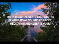 It can take years of practice to reach a deep meditative state. Brainwave entraiment can help you attain it much  faster. Feel calm and at peace with 1 hour audio of theta binaural beats and tibetan singing bowls. Click here now.