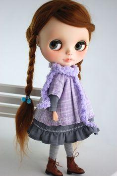 Blythe Mori OUTFIT 5 éléments par Miema Dollhouse par miema4dolls
