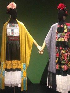 Frida Kahlo - Conexões entre mulheres surrealistas no México. Instituto Tomie Ohtake Foto Leticia Amaral novembro 2015 www.ateliervelovert.com.br
