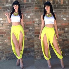 2014 New Arrival Women Sexy Jumpsuit White And Yellow Spring Roompers Womens  Jumpsuit Bodysuit Women Bodycon c8e0c95bbd45