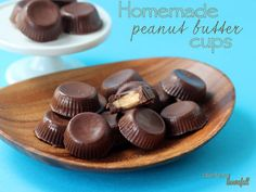 Perfect peanut butter Bliss! Little PB cups made with homemade peanut butter. from #dietersdownfall.com