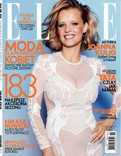 Joanna Kulig, ELLE Polska 04.2013