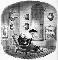 Charles Addams # 13 Original Addams Family, Addams Family Cartoon, Addams Family Tv Show, Adams Family, Cartoon Books, Cartoon Art, Playboy Cartoons, Charles Addams, Goth Music
