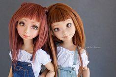 Rei & Reira Toffee Skin - Atelier Momoni Doll