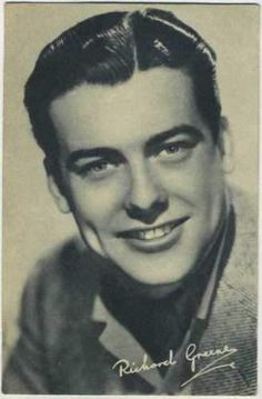 Richard Greene circa 1939 Boys Cinema Vintage Postcard