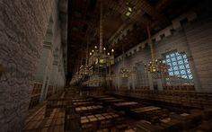 ten of the most beautiful libraries ever built. In Minecraft.