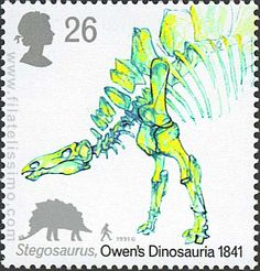 150º Aniversario del 1º congreso de dinosaurios: Stegosaurus. 1991
