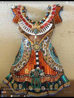 Dress from Susan Wechsler Mosaics