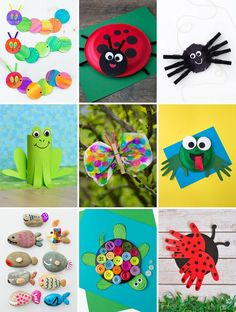 There are endless ways for teachers, parents, and SLPs to incorporate crafts into speech therapy. In this post, discover 10+ easy hands-on crafts and learn how to use those crafts to make speech motivating and fun! #speechtherapypreschool #languagedevelopment #speechtherapyactivities #speechtherapytoddlers #articulation #speechtherapycrafts #preschoolcrafts