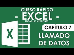 Curso Excel 2013 - Capitulo 6 (Funciones Básicas) (Audio Mejorado) - YouTube