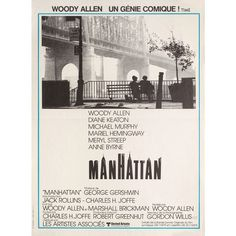 Manhattan 1979 French Petite Poster | Posteritati Movie Poster Gallery... ❤ liked on Polyvore featuring home, home decor, wall art, new york home decor, french wall art, french posters, ny wall art and manhattan poster