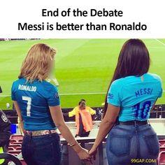 #LOL: Funny Meme About Messi vs. Ronaldo