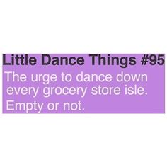 funny dancer quotes