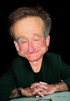 Robin-Williams by RodneyPike