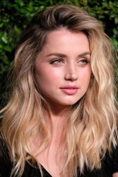 Ana de Armas Teased - Ana de Armas was sexily coiffed with teased waves at the celebration of Chanel's Gabrielle bag.