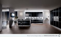modern colour schemes for kitchens - Google Search