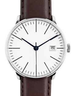 Kent Wang Bauhaus watch v4 white