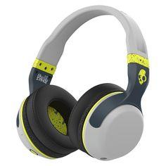 Skullcandy Hesh 2.0 Bluetooth Headphone with Mic - Lime/Gray (S6HBGY-384), Gray/Green