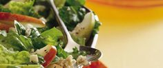 Toasting the walnuts gives this quick-fix salad an extra-special touch!