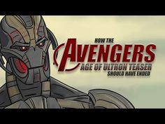 HILARIOUS: How The Avengers: Age of Ultron Teaser Should Have Ended