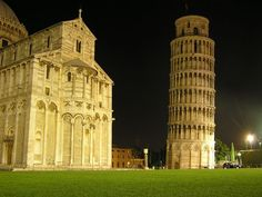 The Leaning Tower of Pisa. Italy