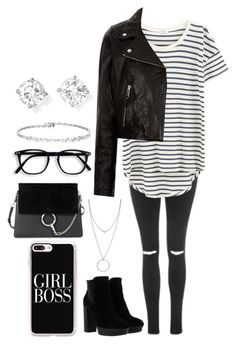 """""""Untitled #595"""" by hoopster27 ❤ liked on Polyvore featuring Topshop, Splendid, Étoile Isabel Marant, Hogan, Botkier, Casetify and Chloé"""