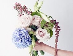 If you're looking for gorgeous, beautiful blooms of flowers, look no further. We've found the best designers in every major city, so you don't have to. My Flower, Flower Power, Beautiful Flowers, Floral Bouquets, Floral Wreath, Florist London, For Elise, Flower Fashion, Planting Flowers
