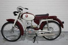 Garelli - Junior Turismo - 49 cc - 1961 Vintage Moped, Antique Auctions, Ceramics, Antiques, Painting, Tourism, Ceramica, Antiquities, Pottery