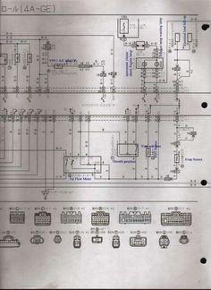 18+ Toyota 4Age Engine Wiring Diagram - Engine Diagram - Wiringg.net Toyota, Silver Tops, Japan, Engineering, Diagram, Silver Strappy Tops, Technology, Japanese
