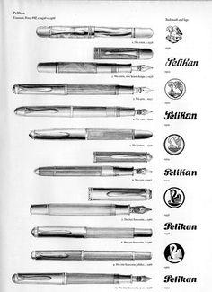 Pelikan Fountain Pens c.1938-c.1988...