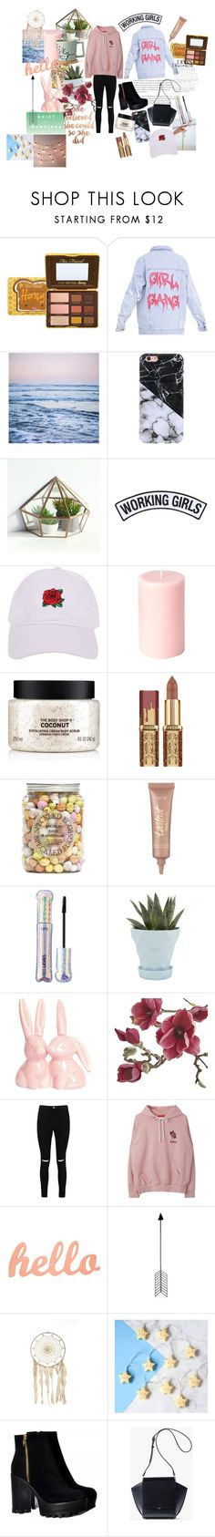 """""""🌹"""" by fashioninmyindustry ❤ liked on Polyvore featuring Working Girls, Armitage Avenue, The Body Shop, tarte, Chive, Crate and Barrel, Boohoo, Bend, The White Company and Berylune"""
