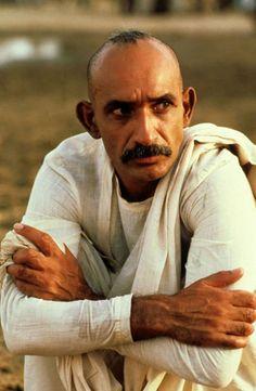 """Ben Kingsley en""""Gandhi"""", 1982"""