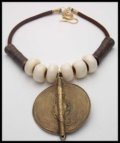 AFRICAN DESERT Very Old Handcast African by sandrawebsterjewelry, $75.00