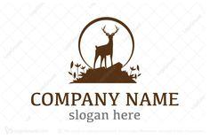 Logo for sale: Logo Forest Deer Logo