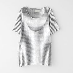 Basia Striped Tee by OBJECTS WITHOUT MEANING