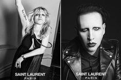 nouvelle campagne choc de Saint-Laurent Paris