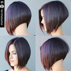Looking for brand new bob hairstyles for a drastic change? Here we have rounded Inverted Bob Hairstyles that you will adore immediately! Inverted bob is. Inverted Bob Hairstyles, Medium Bob Hairstyles, Hairstyles Haircuts, Wedding Hairstyles, Modern Hairstyles, Hair Styles 2016, Medium Hair Styles, Short Hair Styles, Bob Haircuts For Women
