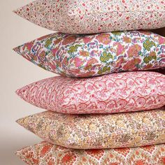 Made by local artisans in Jaipur, India, our patterned pillowcases are printed in a variety of motifs to enliven your bedding. Home Repair, Pillowcases, Warm Colors, Couture, Cottage Style, Surface Design, Jaipur, Design Art, Bed Pillows