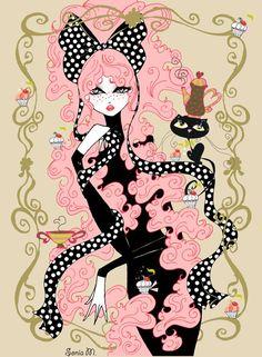 cute illustration by Sonia Menti