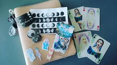 Uiii meine Bestellung von den beiden Maedels @lillyscandyclips @cc_plans von #powderworld ist angekommen <3  #sticker #pls #filofax #filofaxerei #planner by janinaweggenmann