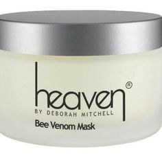 Bee Venom Mask- Nature's Botox A Natural Alternative To Botox And The First Product Of Its Kind. This Unique Product Has Been Specially Created Using Natural And Organic Ingredients, Combined To Work In Synergy For An Instant Anti-Ageing Effect. The Magic Bee Venom Ingredient That Works To Control The Facial Muscles For Immediate Lifting, Tightening And Firming, Whilst Getting To Work On Frown Lines And Wrinkles