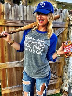 Good Times and a COLD ONE | Available for purchase at BrookeandArrow.com | #mckeesteesplus